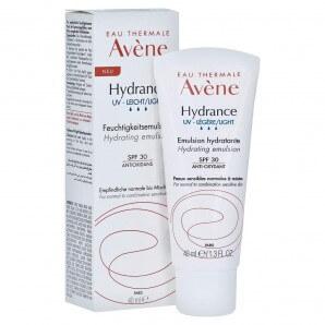 Avène Hydrance UV-LIGHT Moisturizing Emulsion SPF30 (40ml)