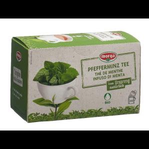 Morga Pfefferminz Tee Beutel Bio (20 Stk)