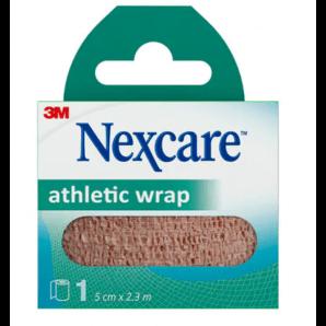 3M Nexcare Athletic Wrap Skin Colors (5cm x 2.3m)