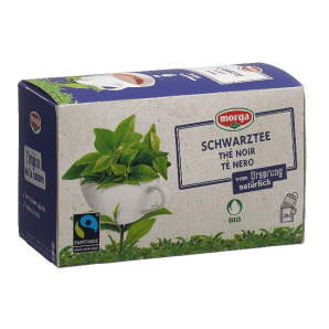 Morga Schwarztee Beutel Bio Fairtrade (20 Stk)
