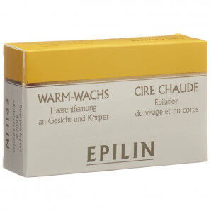 Epilin warm wax for face and body