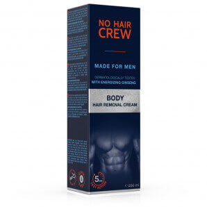 No Hair Crew Körper-Enthaarungscreme (200ml)