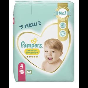 Pampers Premium Protection Gr.4 9-14kg Sparpack (37 Stk)