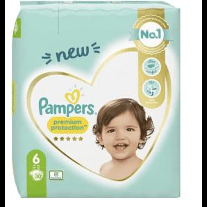 Pampers Premium Protection Gr.6 13-18kg Sparpack (30 Stk)
