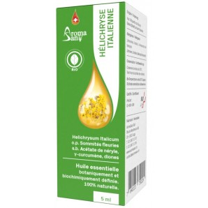AromaSan Immortelle Bio Ätherisches Öl (5ml)