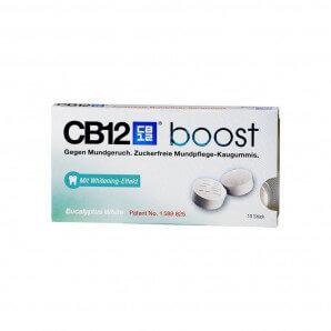 CB12 - Boost White Kaugummi Eucalyptus (10 Stk)