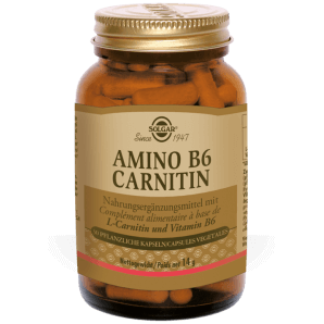 Solgar Amino B6 Carnitin Pflanzliche Kapseln (30 Stk)