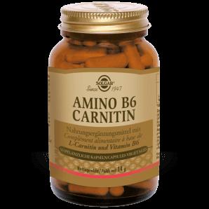 Solgar Amino B6 Carnitine Capsules Végétales (30 pcs)