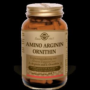 Solgar Amino Arginine Ornithine Capsules Végétales (50 pcs)
