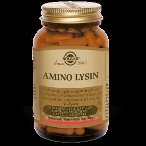 Solgar Amino Lysin Pflanzliche Kapseln (50 Stk)