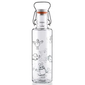 Soulbottle the mourse crew with handle (0.6l)