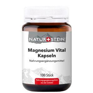 NATURSTEIN Magnesium Vital Kapseln (100 Stk)