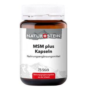 NATURSTEIN MSM plus Kapseln (75 Stk)