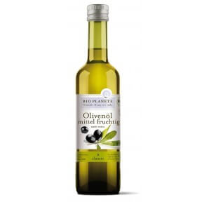BIO PLANETE Olivenöl Mittel Fruchtig Nativ Extra (500ml)