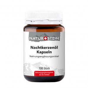 NATURSTEIN Nachtkerzenöl Kapseln (100 Stk)