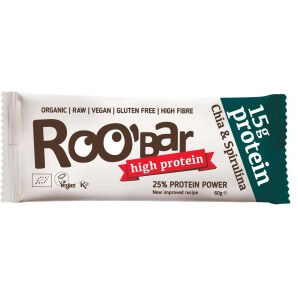 RooBar Protein Bar Chia & Spirulina (60g)