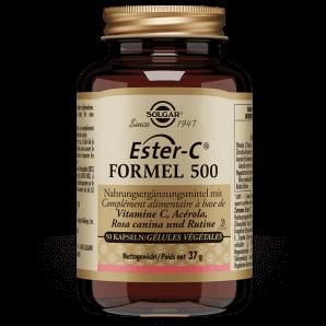 Solgar Ester-C Formula 500 Vegetable Capsules (50 pcs)