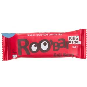 RooBar Des Baies De Goji De Barre D'Aliments Crus (50g)