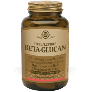 Solgar Hefe/Levure Beta-Glucan Tabletten (60 Stk)