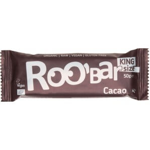 RooBar Barre De Nourriture Crue Cacao (16x50g)
