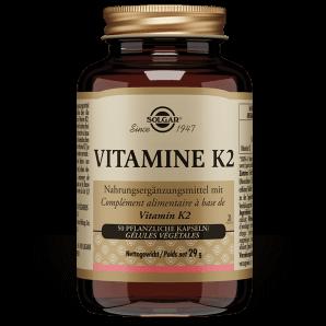 Solgar Vitamins K2 Vegetable Capsules (50 pcs)