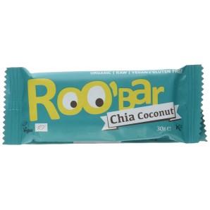 RooBar La Barre D'Aliments Crus Chia Noix De Coco (30g)