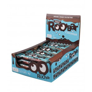 RooBar Chocolate Bar With Coconut (16x30g)