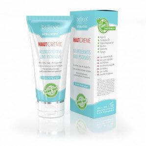 Believa crème peau contre l'eczéma et le psoriasis végétalien (100 ml)