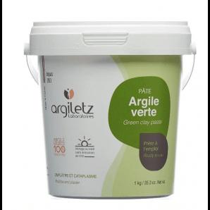 Argiletz Argile Verte Pâte (1kg)