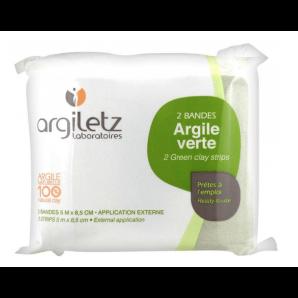 Argiletz Healing Earth Green Strips (2 pieces)