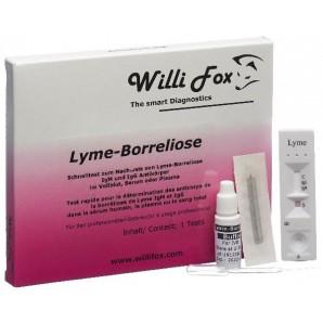 Willi Fox Le Test Rapide De La Maladie De Lyme (1 pièce)