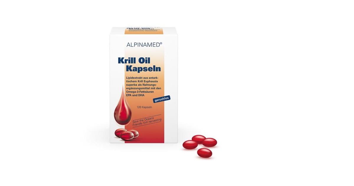 Alpinamed - Krill Oil Kapseln (120 Stk)