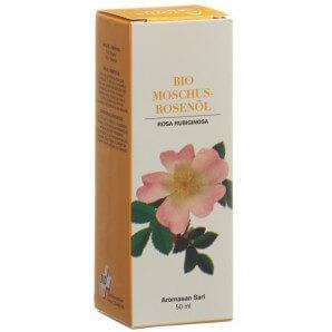AromaSan Organic Musk Rose Oil (50ml)