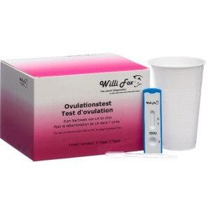 Willi Fox Ovulationstest (5 Stk)