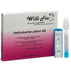 Willi Fox Le Test De Les Matières Fécales Helicobacter Pylori AG (1 pièce)