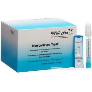 Willi Fox Norovirus Stuhl Test (5 Stk)