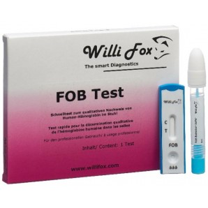 Willi Fox Le Test De Excréments FOB (1 pièce)