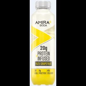 Amira+ Soda Protein Infused Yuzu & Pamplemousse (500ml)