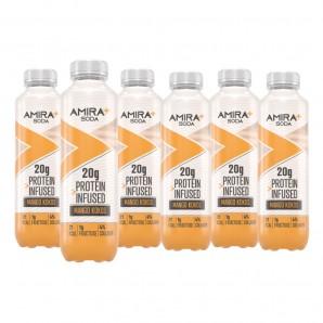 Amira+ Soda Protein Infused Mango & Kokos (6 x 500ml)