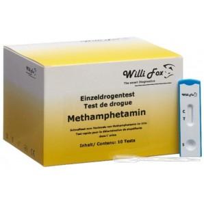 Willi Fox Drogentest Methamphetamin Urin (10 Stk)