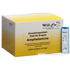 Willi Fox Drogentest Amphetamine Urin (10 Stk)