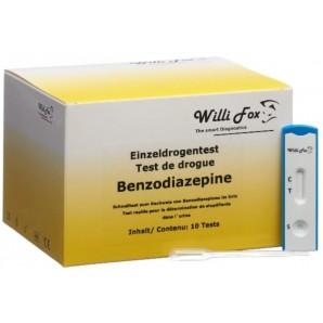 Willi Fox Des Benzodiazépines Test De Drogue Urine (10 pièces)