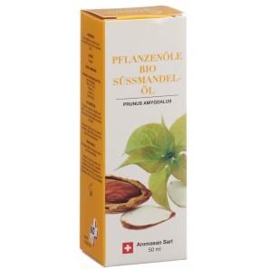 AromaSan Huile Végétale Bio d'Amande Douce (50ml)