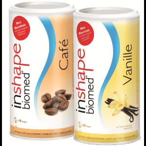 InShape Biomed Café & Vanille Kombi (2x420g)
