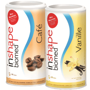 InShape Biomed - Cafe & Vanille combi (2x420g)