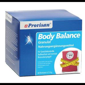 Provisan Body Balance Des Bâtonnets De Granulés (60 pièces)