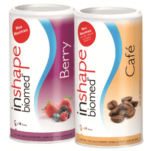 InShape Biomed Berry & Café Kombi (2x420g)