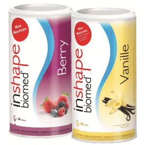 InShape Biomed - Berry & Vanilla combi (2x420g)