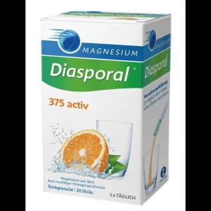 Diasporal Magnesium Activ Drinking Granules Orange (20 pieces)