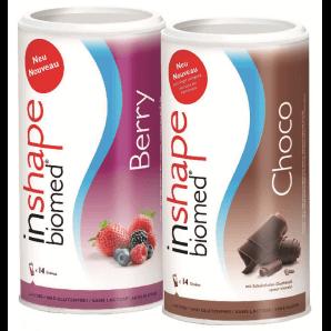 InShape Biomed Berry & Choco Combi (2x420g)